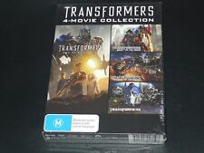 Transformers 4-Movie Collection 4DVD Set [Region 4]