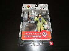 Irvine Kinneas Final Fantasy VIII 8 Action Figure Brand New Sealed Bandai