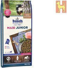15 kg Bosch Junior Maxi Premium Hundefutter für Welpen / Junghunde großer Rassen