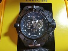 Invicta Men's Unique 6555S Subaqua Noma IV Black Dial Black Case Black Band
