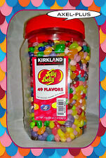 4 LB Original Jelly Belly Beans - 49 Flavors - Kirkland (64 oz.)  FRESH