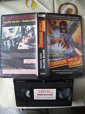 Terreur Sur Le Stade de William A Graham, VHS Initial, Action, RARE!!!