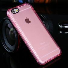 Shockproof Clear Crystal Rubber TPU Soft Case Cover For Apple Phone 5 6 6S Plus