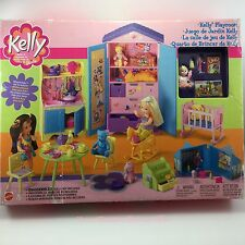 Barbie Kelly Playroom w Miracle Baby Uno Little People Zoo Kitchen Toys Table