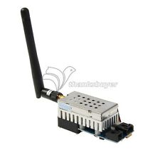 FPV 5.8Ghz 2000mW 2W 8 Channel Wireless Audio Video Transmitter AV Sender