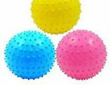 6 NOVELTY KNOB SPIKED 6 INCH BALLS kick sports toy ball assorted colors NEW