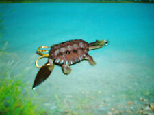 CRAFTED /NEW KILLER  BABY SNAPPING TURTLE 2  3/4  INCH BASS FISH LURE !
