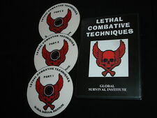 A3  LETHAL COMBATIVE TECHNIQUES- SALE PRICE - MARTIAL ARTS- JUDO-KARATE- KNIVES