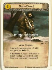 A game of thrones LCG - 1x Rusted sworld #047 - ice and fire draft Pack
