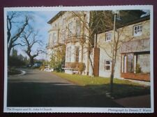 POSTCARD ESSEX ST FRANCIS HOSPICE & ST JOHNS CHURCH