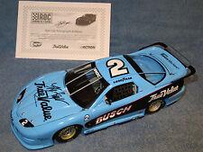 Kurt Busch Hand Autographed 2003 Championship IROC 1/24 Firebird Talladega WIN