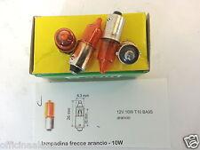 bulb 12v-10w ORANGE INDICATORS BA9s