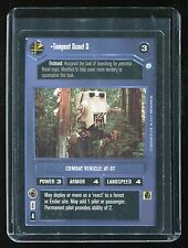 Star Wars CCG Endor: Tempest Scout 3 (Played) *2000 Copyright* (SWCCG)