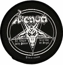 "Venom In League 3.5"" x 3.5"" Sew Ironed On Badge Embroidery Applique Patch"