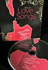 Best of LOVE Songs CD, NEW! FREE SHIP! Howard Jones, Starship,Heatwave, CHI-ITES