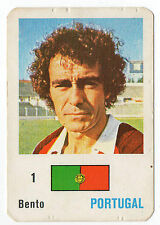 Football World Cup 1986 Portugese Pocket Calendar Portugal Keeper Manuel Bento