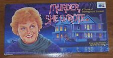 MURDER SHE WROTE Board Game ~ New, Factory Sealed ~ 1985 ~ Angela Lansbury