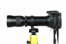 420-800mm F/8.3-16 Super Telephoto Lens for Canon EOS 5D Mark III II 7D II 7D 5D