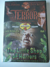 The Terror/The Little Shop of Horror Dvd NEW