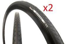 2x Vittoria 700x25 Zaffiro II Road Tyre 25-622 60tpi 700C FULL BLACK