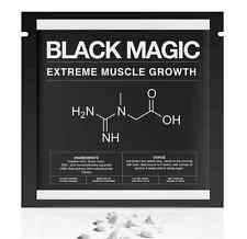 BLACK MAGIC™- CREATINE AKG + ZMA + HMB + AMINO ACIDS -STRONGEST MUSCLE FORMULA!