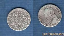 Louis XV, 1715-1774 – 1/10 Ecu aux Branches d'Olivier 1726 D Lyon TB