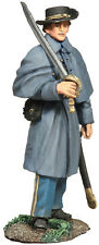 W Britain Confederate Infantry Officer In Winter Clothing No 1 31161 Civil War