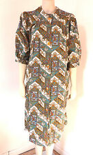 Vintage 1960s 60s Kenrose Ireland Hippy House Coat Size 16 - 18 Plus Size