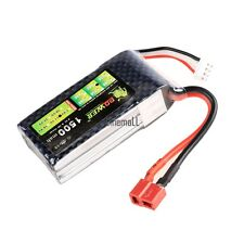 Lion Li-Po Battery 11.1V 1500mAh 40C Max 60C T Plug For RC Car Airplane LM01