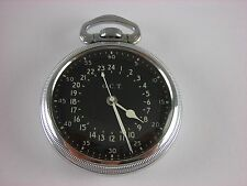 Antique Hamilton 4992B, 22 jewels Navigational 16s pocket watch. Made in 1942