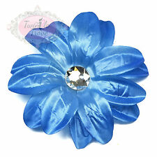 Large Lily Flower Hair Clips Grips. Bridal Braidsmaid Wedding Accessory