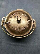 Griswold Cast Iron No. 0 Toy Dutch Oven