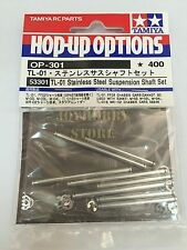 Tamiya 53301 RC TL01 Suspension Shaft Set - Stainless Steel FF02 WR02 M03 TL01B