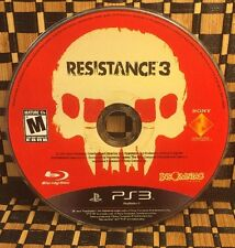 Resistance 3 (Sony PlayStation 3, 2011) USED (DISC ONLY) #10413