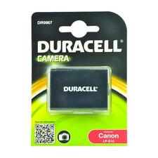 Duracell dr9967 Repuesto Cámara Digital batería para Canon Lp-e10 Batería