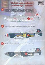 Print Scale Decals 1/72 NORMANDIE NIEMEN French Aces in Russia