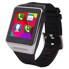 "1.54"" W008 Watch Phone Touch Screen Quad Band Unlocked 5.0 mp Camera Bluetooth"