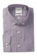 Ben Sherman Bond Long Sleeve Tailored Slim Fit  Dress Shirt--M: 15.5-32-33