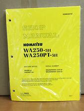 Komatsu WA250-5H, WA250PT-5H Wheel Loader Shop Service Repair Manual