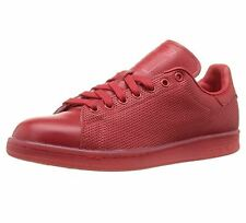 adidas Stan Smith adicolor Sz US 12 M Red Perf Leather Sneakers Mens Shoes