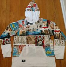"""L-R-G Lifted Research Group LRG """"Last Destination"""" Pullover Hoodie White 2XL"""