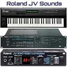 Roland JV-80 JV-880 JV-1000 JV-1010 JV-1080 JV-2080 - Largest Sound Collection
