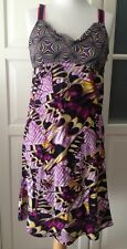 Matthew Williamson For H & m vestido dress Butterfly mariposa seda 38 nuevo