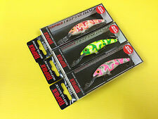 Three Special Edition Rapala Deep Tail Dancer TDD-7 in 3 Camo Color Lures, NIB.