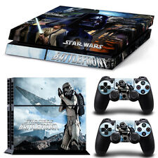Star Wars Battlefront Cover Skin Stickers for Sony PS4 Console & 2 Controller