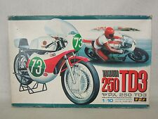 Vintage NAGANO Model Kit 1/10 YAMAHA 250 TD3 with Racing Rider Moto GP Japan