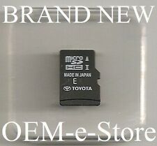 2014 2015 Toyota Sequoia Sienna Tundra RAV4 Navigation Micro SD Card Map OEM