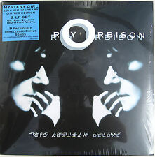 ROY ORBISON LP x 2 Mystery Girl Deluxe - 25th Anniv 180 Gm + DOWNLOADS 9 New Trk