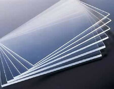 "Four Pack of 24"" x 48"" x 3mm Thick Clear Acrylic Sheet (Nominal, May Be Shied)"
