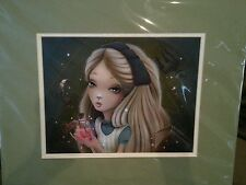 DISNEY WONDERGROUND ALICE HOW DO YOU GET TO WONDERLAND SHANNON BONATAKIS PRINT
